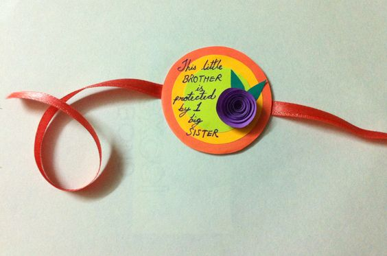 DIY Message Rakhi