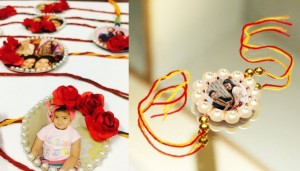 DIY photo Rakhi