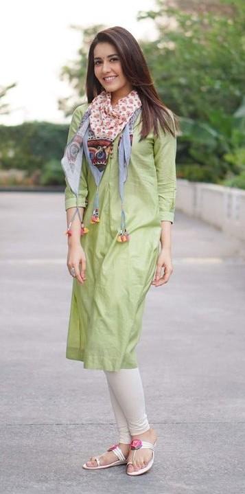 Dressing up for Rakhi