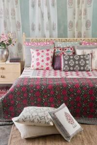 Handloom and handpainted home linens
