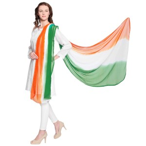 Independence day dyed dupatta