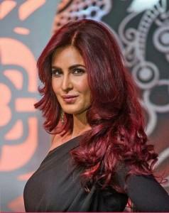 Katrina Kaif in red hair color