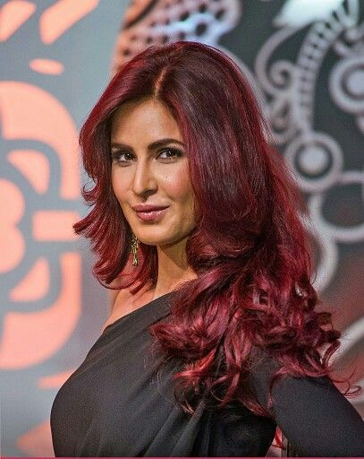 Katrina Kaif in red hair color