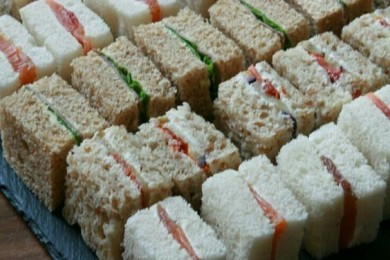No cook Vegetable sandwiches for kids