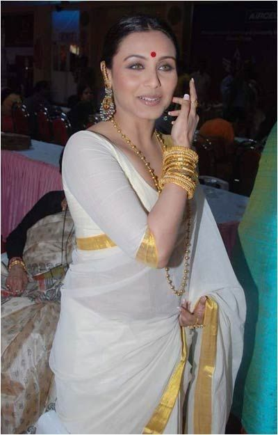 Rani Mukherjee in Kerala Saree