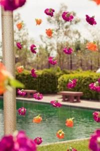 DIY Indian Wedding decor with Flowers