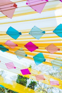 DIY Indian Wedding decor with kites