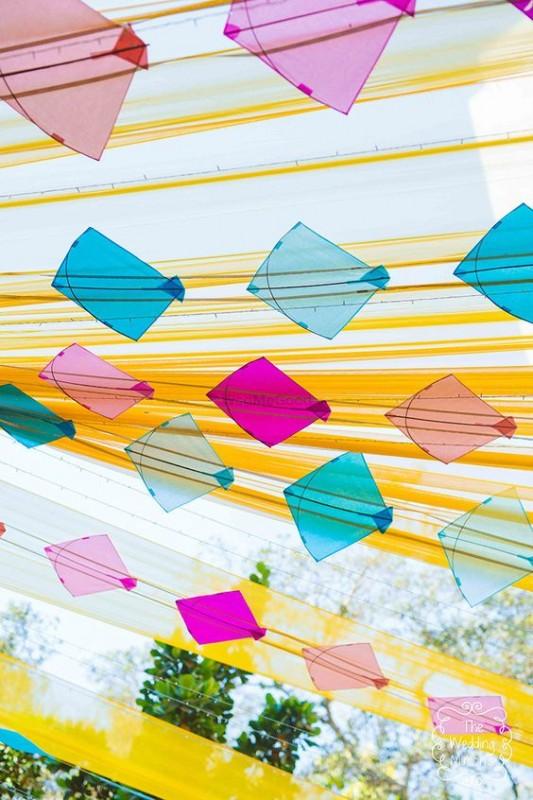 DIY Indian Wedding decor with kites