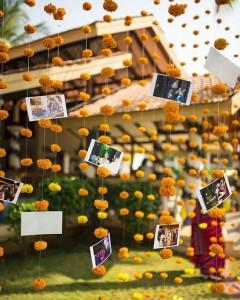 DIY Indian Wedding decor with real photos