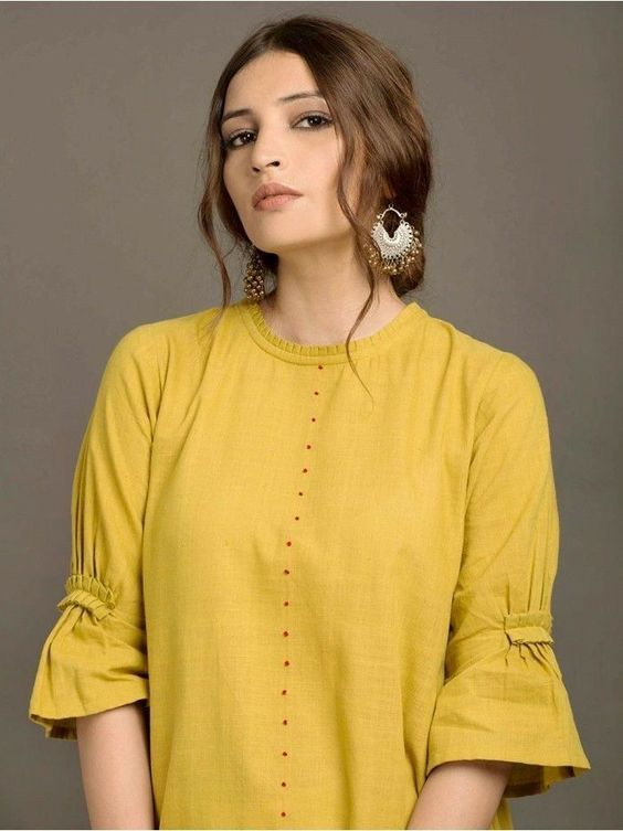 Neckline designs for kurta