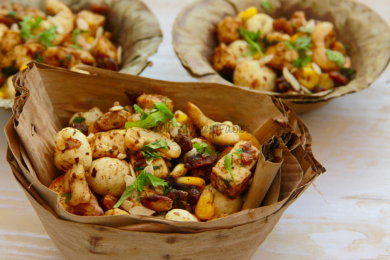 Dry fruit chaat navratri fasting recipes