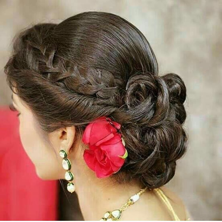 Hairstyle ideas for navratri