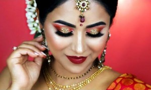 Makeup for Karwachauth