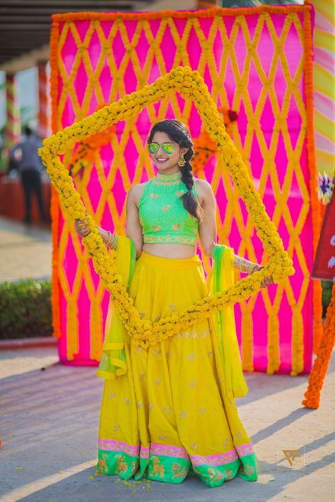 Floral Photo Booth Ideas For Indian Weddings Fashion In