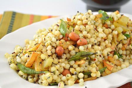 Sabudana Khichri for fasting