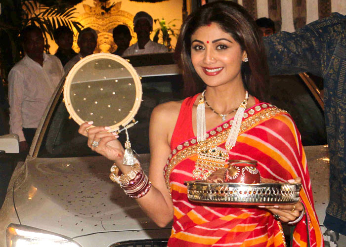 Shilpa Shetty on Karwachauth