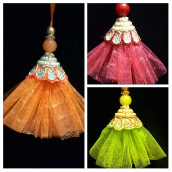 Tassel style for garments