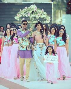 Bridal entry