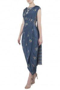 Drape saree like a dress