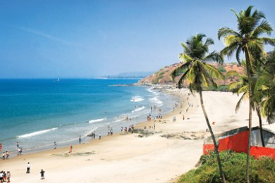 Goa honeymoon destination in India