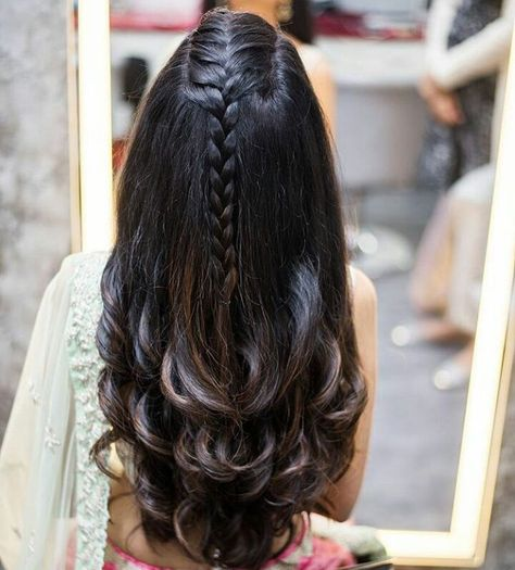 Mesmerizing Open Hairstyles To Try This Wedding Season - Threads - WeRIndia