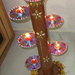 Recycle Old CD's For Diwali Lights