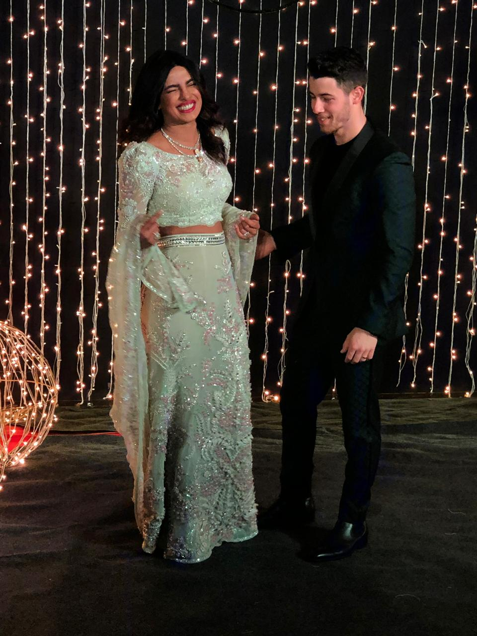 Priyanka and Nick Jonas Mumbai wedding reception