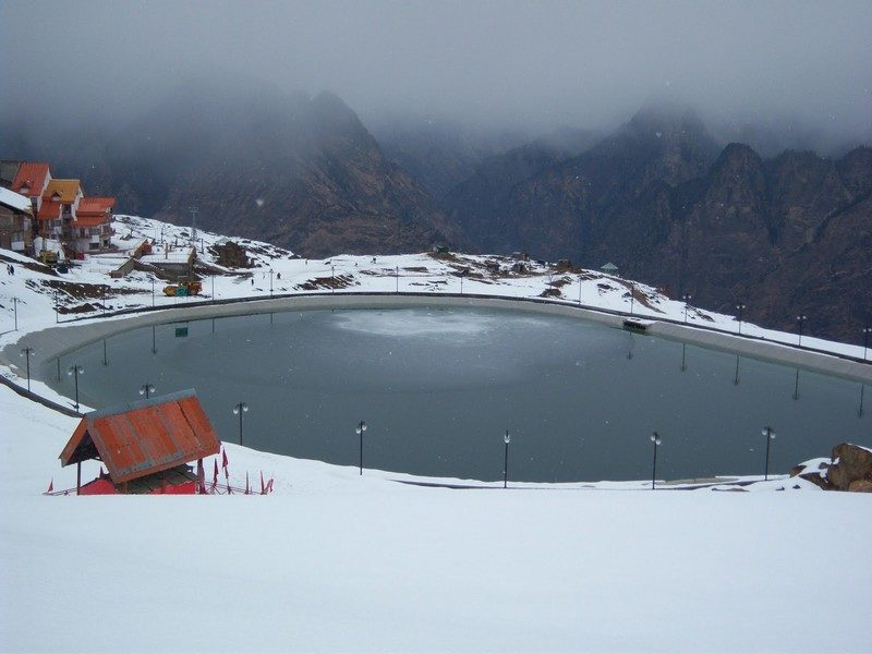 Auli, places to visit for snow in January