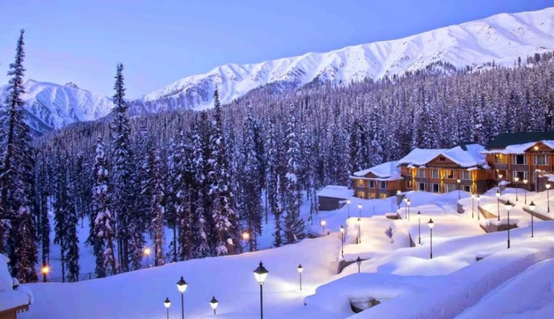 Gulmarg, places to visit for snow in January