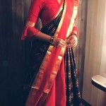 Drape Silk Sarees Like A Dupatta With Regular Lehnga's And Skirts