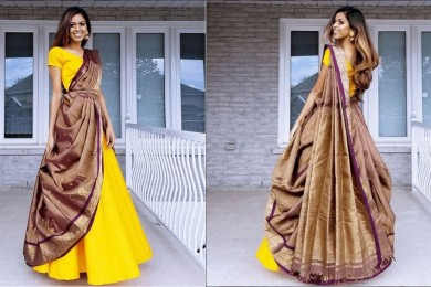 How to reuse silk sarees