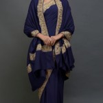 How to take a shawl with a saree