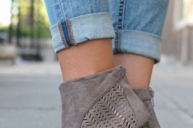 The Correct Way Of Styling Ankle Length Boots With Denims