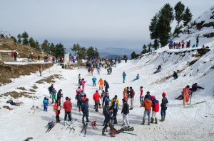 Kufri, places to visit for snow in January