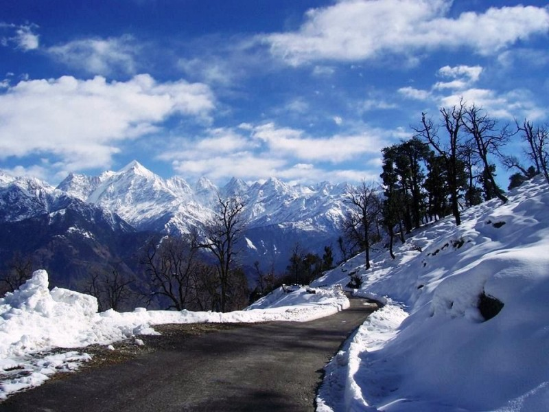 Munsiyari, places to visit for snow in January