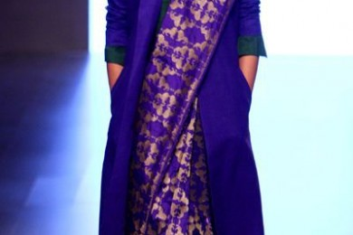Saree for winter wear