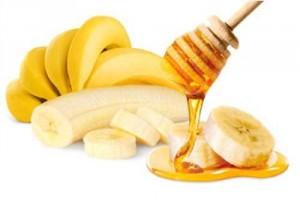 Banana honey hair mask and natural conditioner