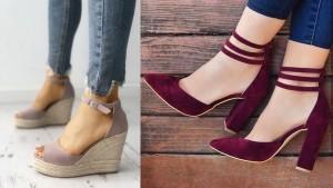 Comfortable heels must have footwear styles