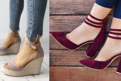 Comfortable heels must have footwear styles