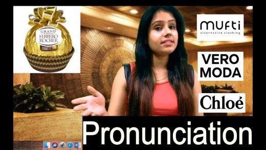 Correct pronunciation of famous brands