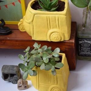 Earthen plant pots