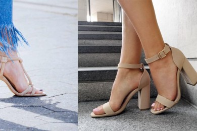 Nude footwear must have footwear styles