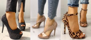 Peep toe must have footwear styles