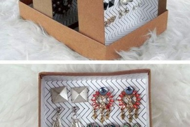 Reuse shoe boxes