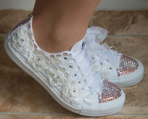 Revamp old sneakers