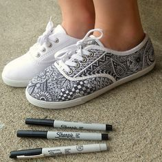 Revamp old sneakers