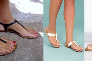 Thong sandals footwear which every woman should have