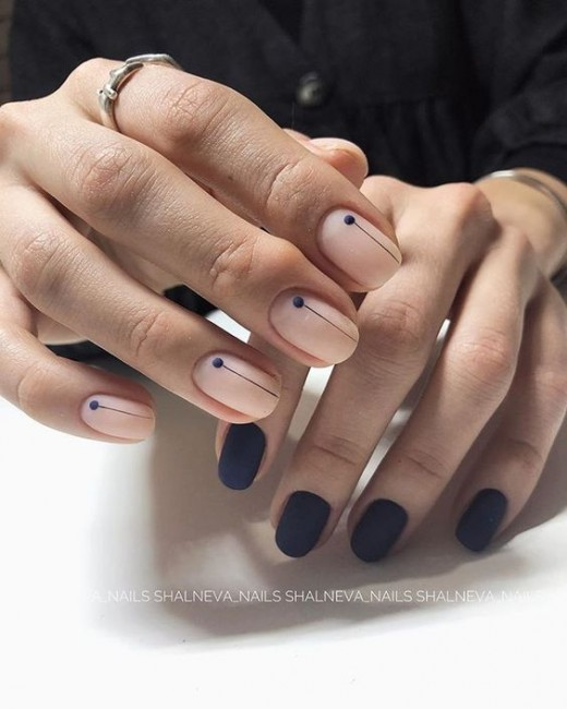 Nail art for winters