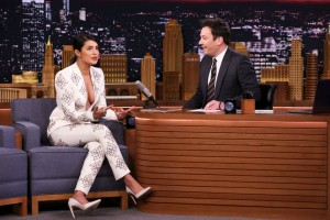 priyanka chopra first appearance post marriage on The Tonight Show Starring Jimmy Fallon