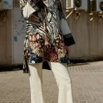 Animal print kurti for summers